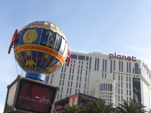 Paris Casino, Planet Hollywood in background
